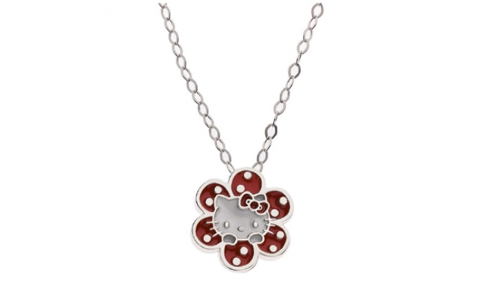 Colgante en plata Hello Kitty 1-1004