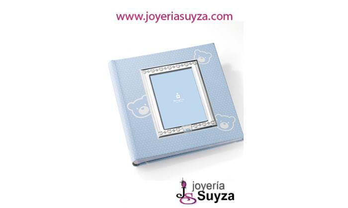 Album con portafotos en plata 41526/C20R