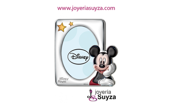 Marco Disney en plata D238/4LC