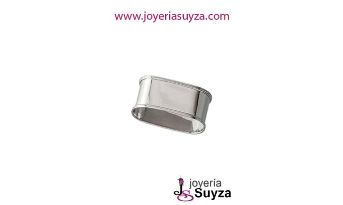 Servilletero en plata LU8017