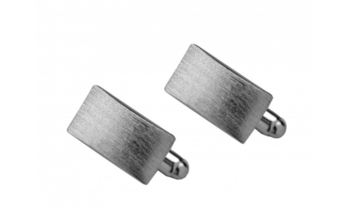 Gemelos en plata rectangulares 1MO-002929