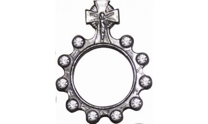 Decenario Cristo en plata 1RLG-0050.1