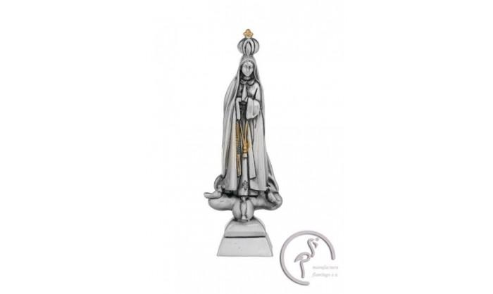 Figura en plata Virgen de Fátima 4BI-LE080129