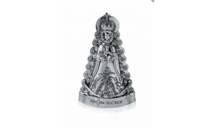Figura en plata Nuestra Señora del Rocío 4BI-LE081140
