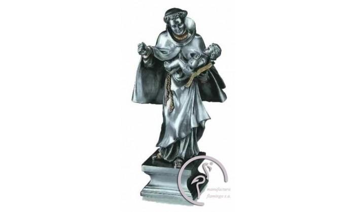 Figura en plata y oro de S. Antonio 4BI-MI120120