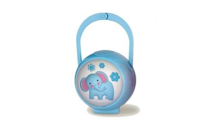 Chupetero y porta chupete azul Pierre Cardin 4PM0105.8C