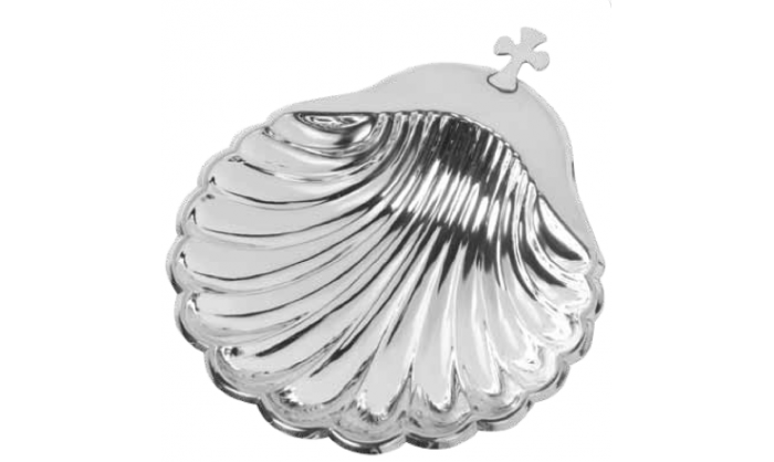 Concha bautismo plata 1SA-FL0027