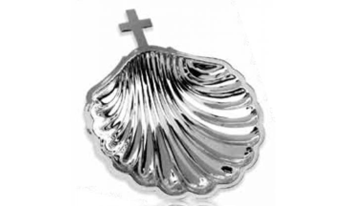 Concha bautismo plata 1SA-FL0019B