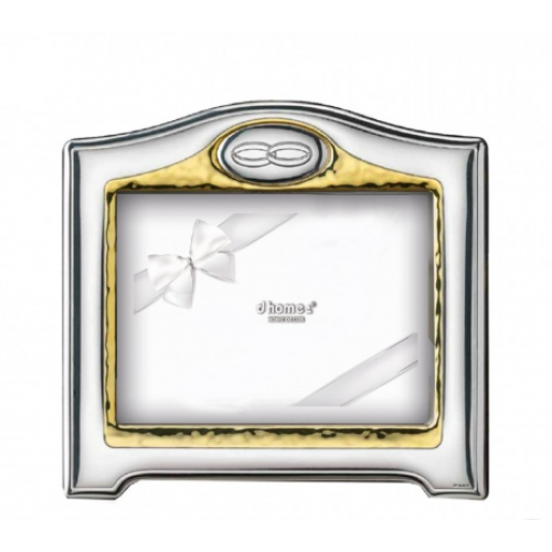 Marco plata con alianzas 4ml vl12422 4l - Marcos de plata para bodas ...