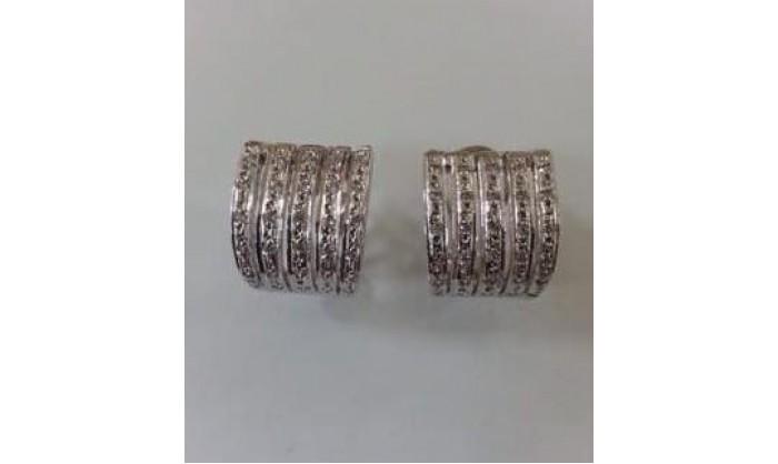 Pendientes plata con circonitas 192_A836